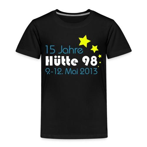 15 Jahre Hütte 98 Design - Kinder Premium T-Shirt