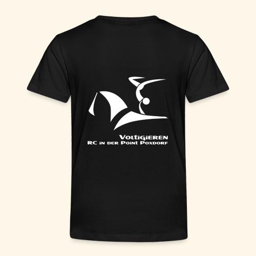 Fan- und Trainingskleidung_Logo weiß - Kinder Premium T-Shirt