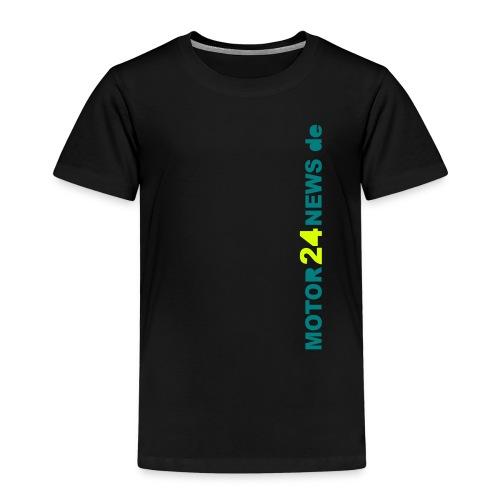 Motor24news-schrift - Kinder Premium T-Shirt