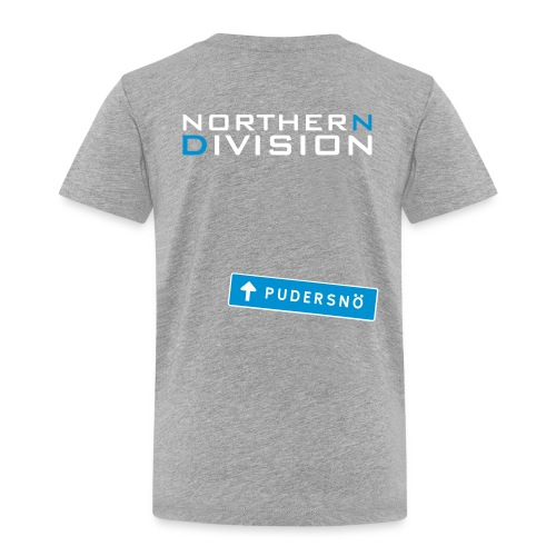 pudersn_2vari - Lasten premium t-paita