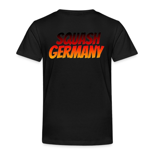 Squash Germany - Lasten premium t-paita