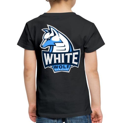 White Wolf Logo - Kinder Premium T-Shirt
