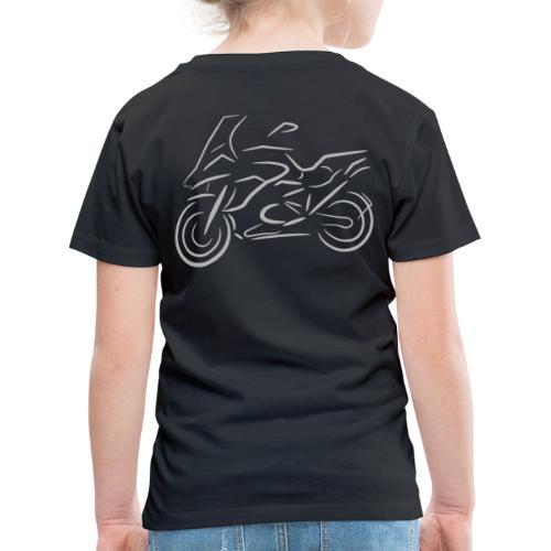 Motorrad Fahrer, Bike, Biker, 1200 - Kinder Premium T-Shirt