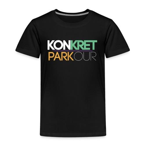 konkret parkour simple yt - Premium-T-shirt barn