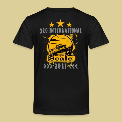 superScale® 2017 Yellow - Kinder Premium T-Shirt