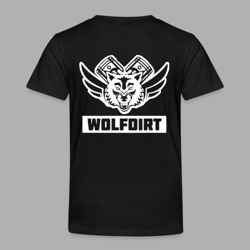 WOLFDIRT - VEKTOR - Kinder Premium T-Shirt