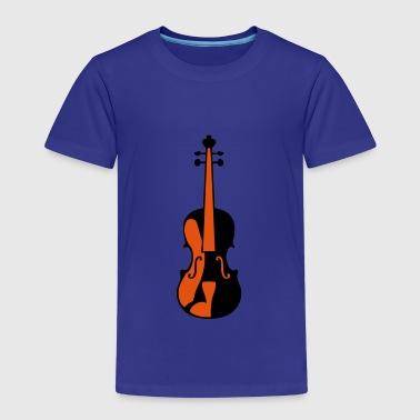 violine musik instrument 506 - Kinder Premium T-Shirt