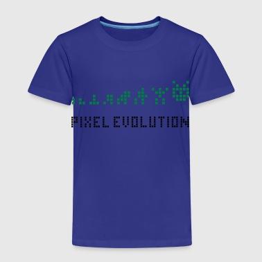 Pixel Evolution - Koszulka dziecięca Premium