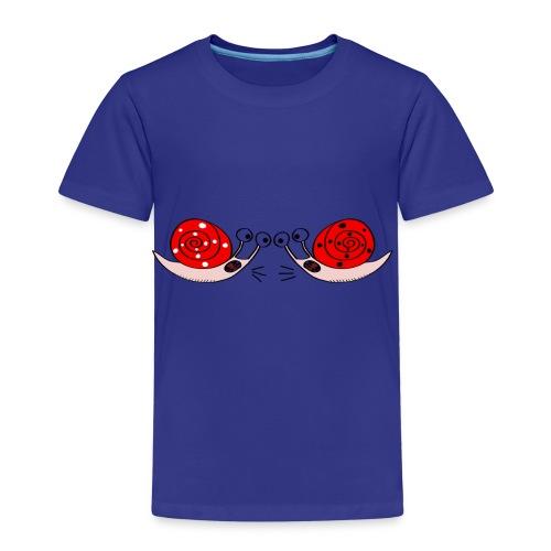 Crazy snails - Kids' Premium T-Shirt