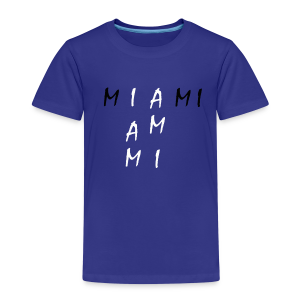 Miami Collection - Premium T-skjorte for barn