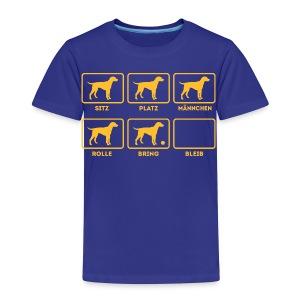 Für alle Hundebesitzer mit Humor - Kinder Premium T-Shirt