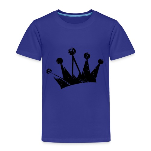 Faded crown - Kids' Premium T-Shirt