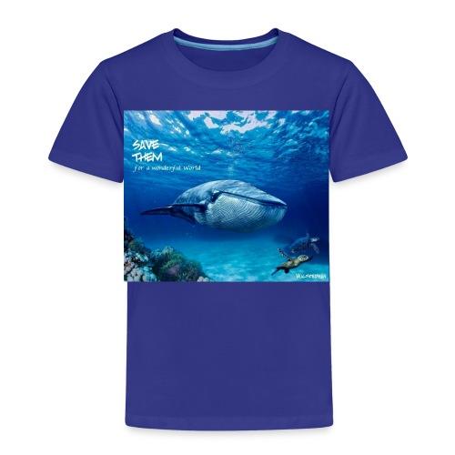 SAVE THEM fww sea - Camiseta premium niño