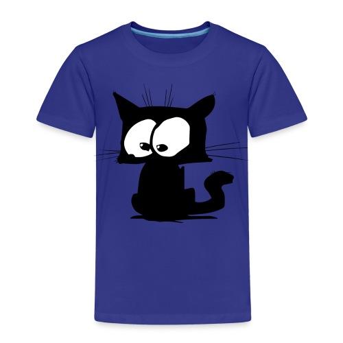 Black Cat 01 - T-shirt Premium Enfant