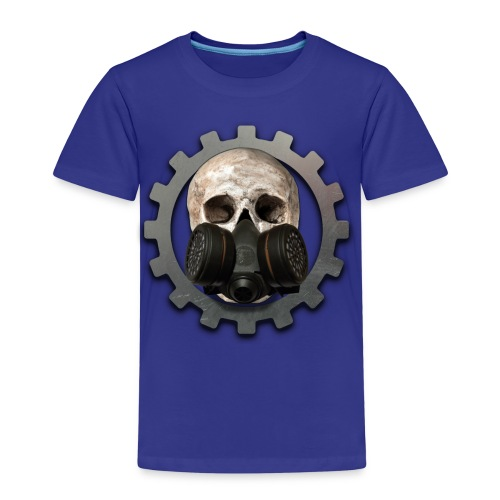 EBM - ELECTRONIC BODY MUSIC DEATH HEAD RESPIRATOR - Kids' Premium T-Shirt