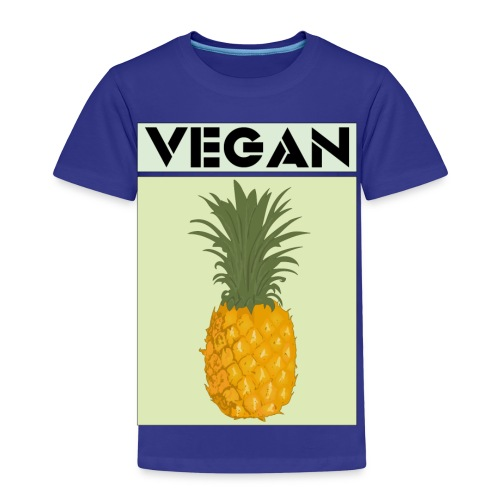 VEGAN PINEAPPLE - Kids' Premium T-Shirt