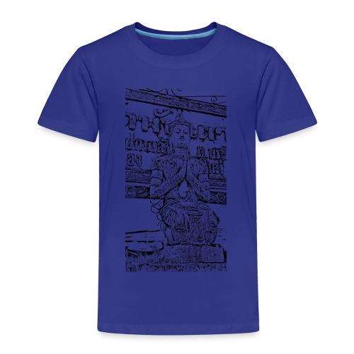 Faded Buddha Tee - Kinder Premium T-Shirt