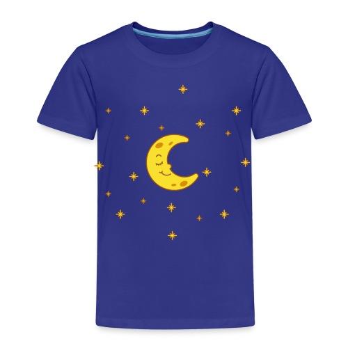 Mond und Sterne - Kinder Premium T-Shirt