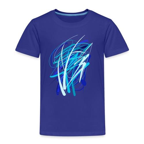Blaue fünferkonstellation - Kinder Premium T-Shirt