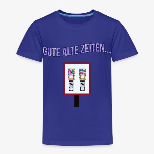 Gute alte Zeiten... - Kaugummiautomat - Kinder Premium T-Shirt