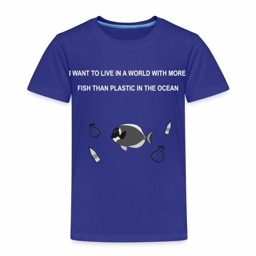 Less plastic - Kinder Premium T-Shirt