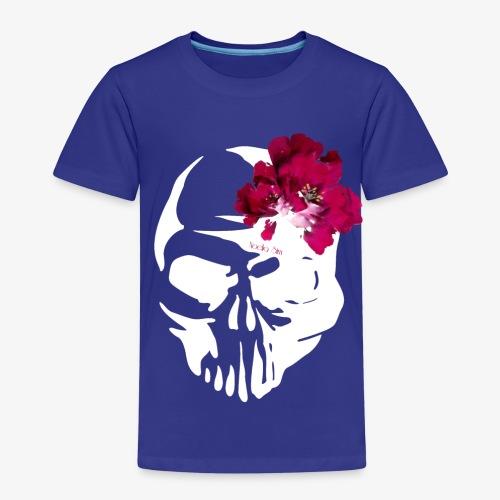 Skull Flower - Camiseta premium niño