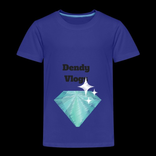 DendyVlogs Diamond Merch - Kids' Premium T-Shirt