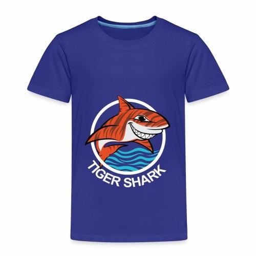 Tigerhai Logo Comic - Kinder Premium T-Shirt