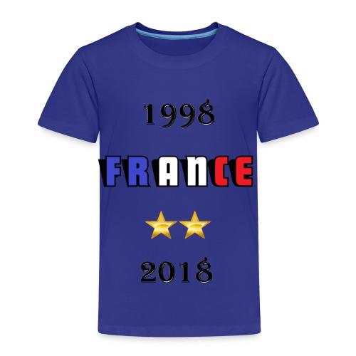 France 1998 2018 - T-shirt Premium Enfant