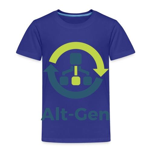Alt-Gen Logo - Kids' Premium T-Shirt