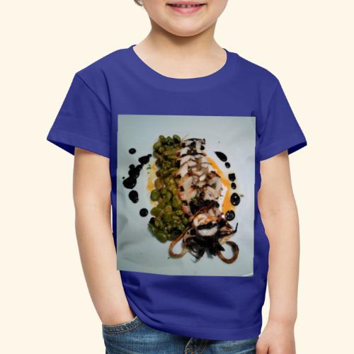 Spanish food choco plancha - Camiseta premium niño