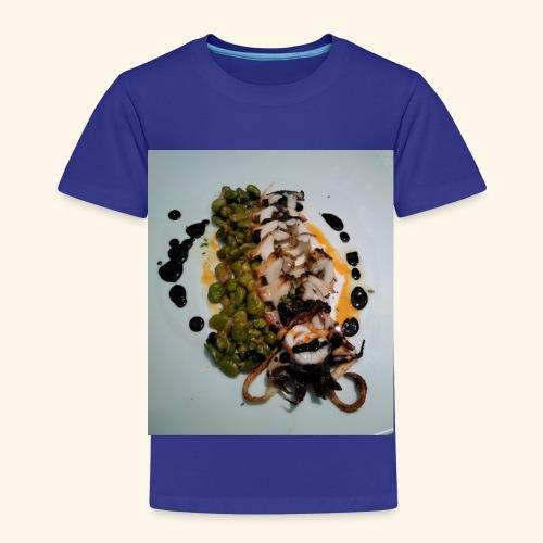 Spanish food choco plancha - Camiseta premium niño