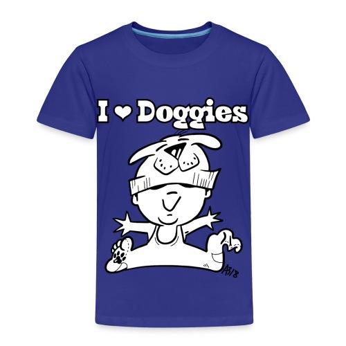 baby i love doggies - Kinderen Premium T-shirt
