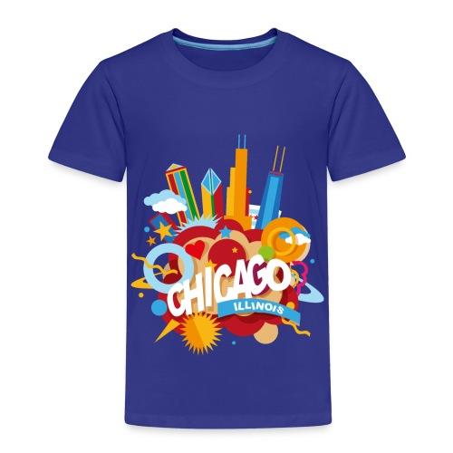 Chicago Illinois - Maglietta Premium per bambini