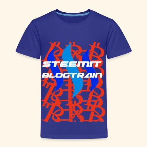 STEEMIT BLOGTRAIN - Kids' Premium T-Shirt