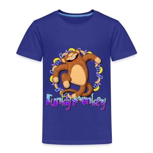 Funky Monkey - Maglietta Premium per bambini