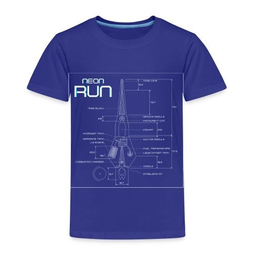 NeonRun - Kinderen Premium T-shirt