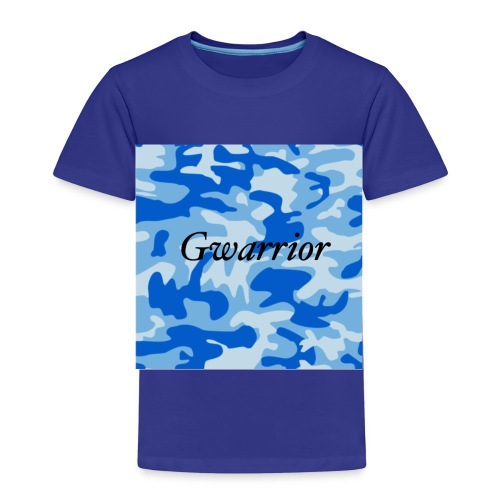 GWARRIOR BLUE CAMMO TSHIRT - Kids' Premium T-Shirt
