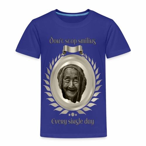 Höre nicht auf zu lächeln 1 Titan - Kinder Premium T-Shirt