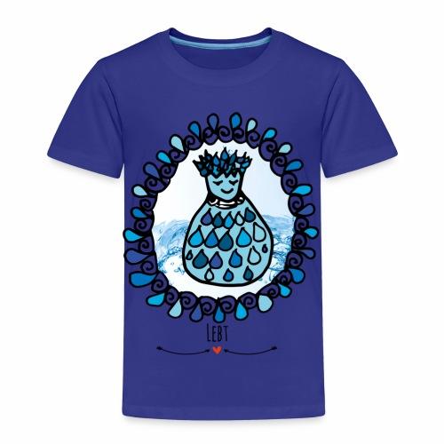 Kuschel dich in Udus Höhle- Die Hüter von Orbis - Kinder Premium T-Shirt