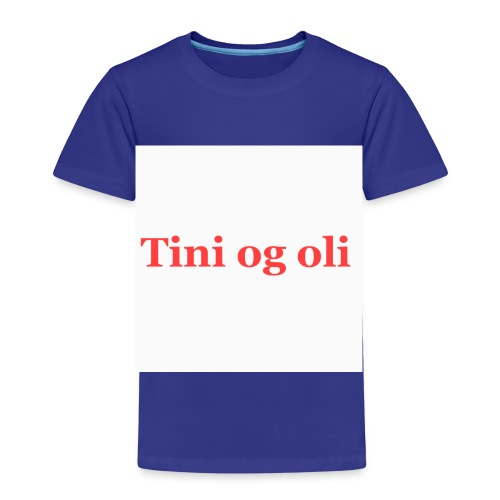 Tini og oli merch - Premium T-skjorte for barn
