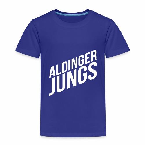 Aldinger Jungs. Weiß - Kinder Premium T-Shirt