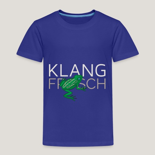 Klangfrosch - Kinder Premium T-Shirt