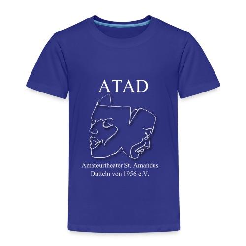 ATAD Logo Leicht schrift weiss1300x1300px - Kinder Premium T-Shirt