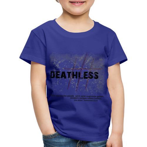 Deathless 3 Kreuze - Kinder Premium T-Shirt