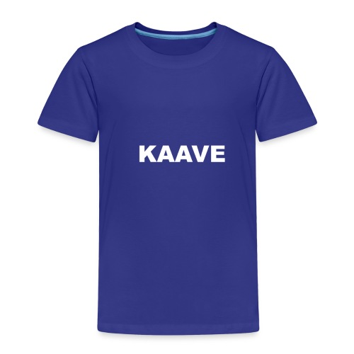 KAAVE logo merch - Premium-T-shirt barn
