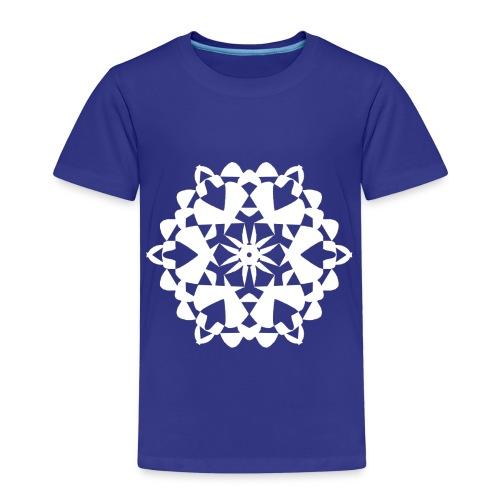 Mandala Schneeflocke - Kinder Premium T-Shirt