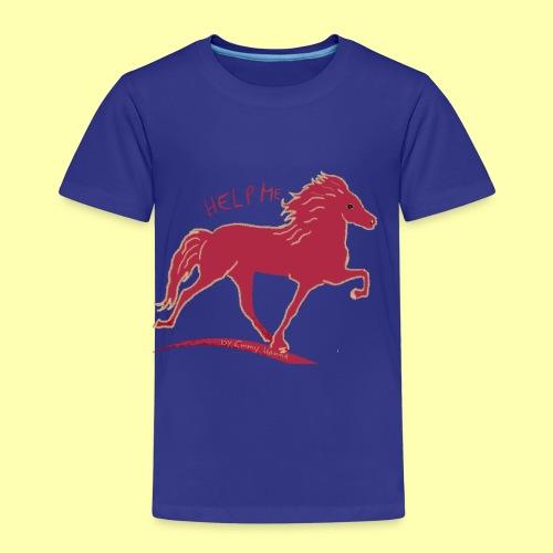 Help Me by Emmy Hanna - Kinder Premium T-Shirt