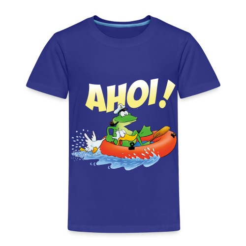 froschspeed ahoi - Kinder Premium T-Shirt
