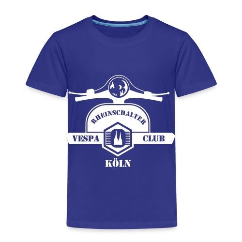 RheinSchalter (gross/weiss) - Kinder Premium T-Shirt